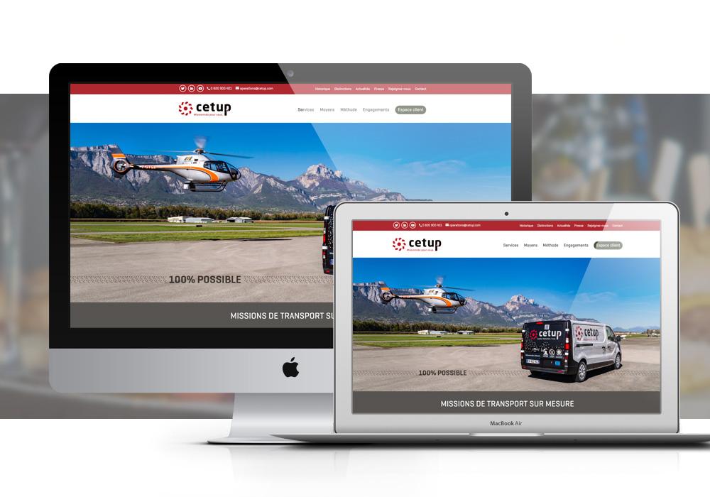Cetup site web